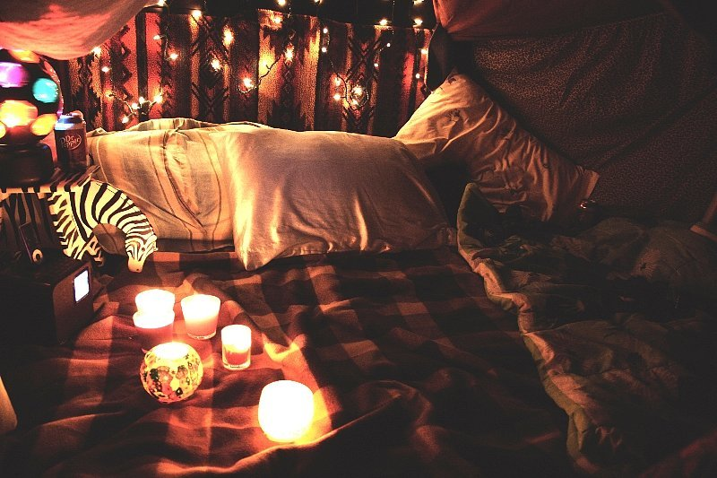 Enjoy Cozy Camping in a Blanket Fort