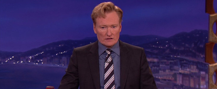 Conan O'Brien Stops His Show to Break the News of Robin Williams' Death