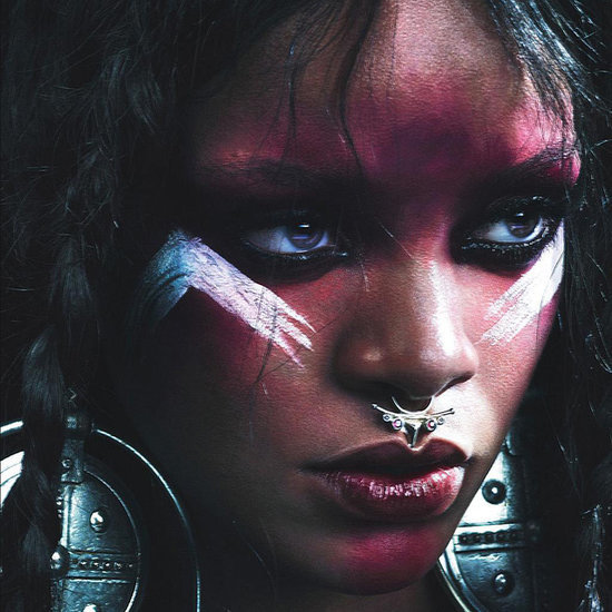 Rihanna Nose Ring in W Magazine
