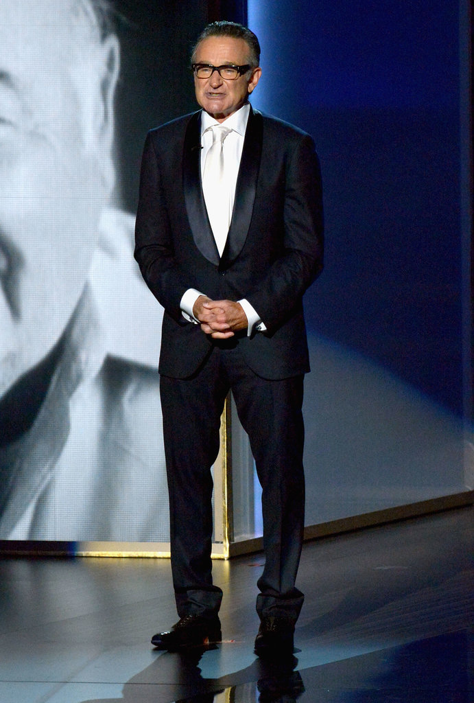 At the 2013 Emmy Awards, Robin gave a heartfelt tribute to his friend and Mork and Mindy costar Jonathan Winters.