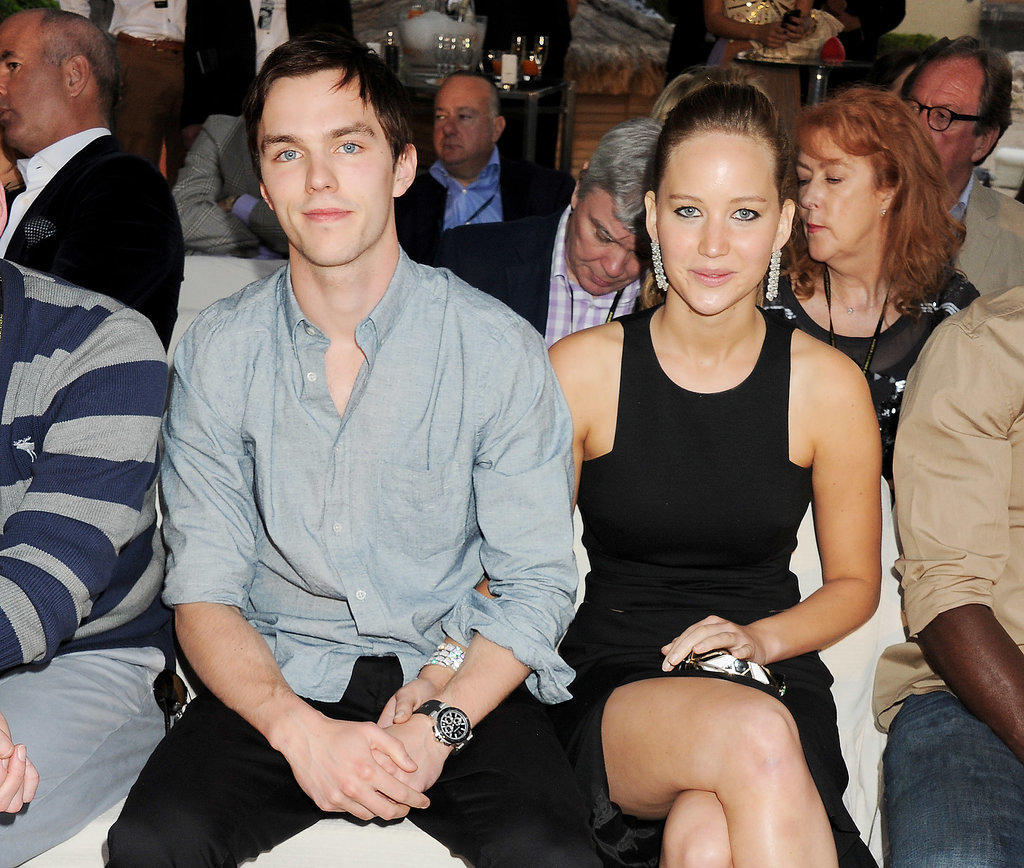 When She Dated Nicholas Hoult . . .