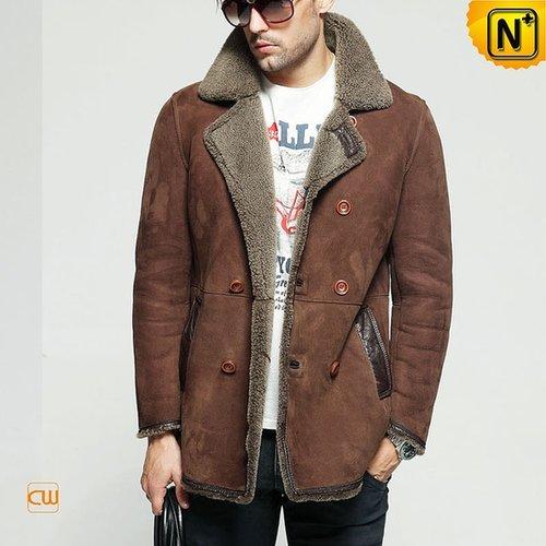 Sheepskin Winter Coat for Men CW851155