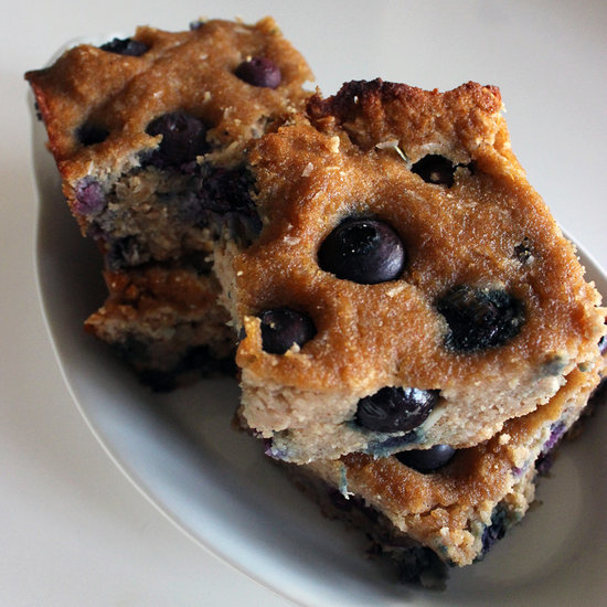 Coconut-Blueberry Bars