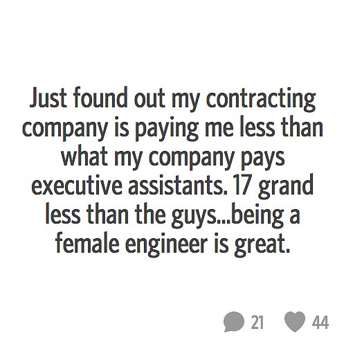 Women of tech, let's make ourselves heard!