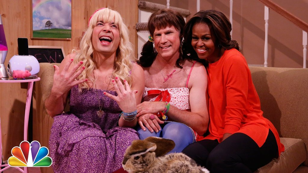 """Ew!"" With Will Ferrell and Michelle Obama"