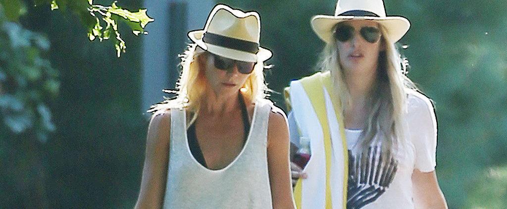 Gwyneth Paltrow Escapes Romance Rumors at the Beach