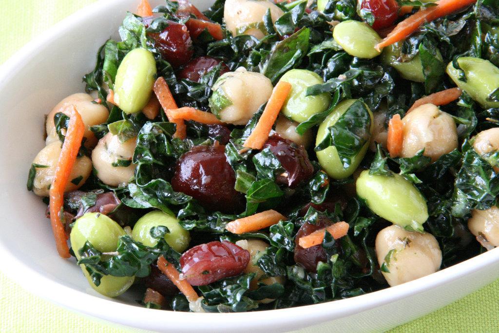 Kale and Edamame Salad