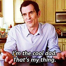 Funny Phil Dunphy GIFs on Modern Family