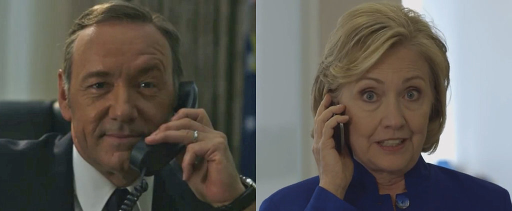 Kevin Spacey Tries to Fool Hillary Clinton With His Best Bill Impression