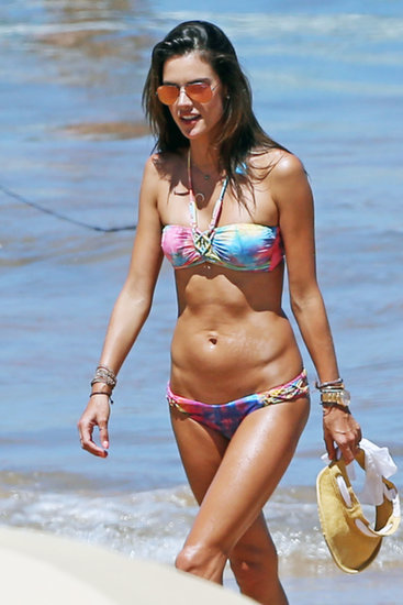 Alessandra Ambrosio's Vacation Is All About Bikinis, Family, and PDA