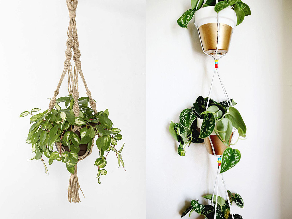 Hanging Rope Planters