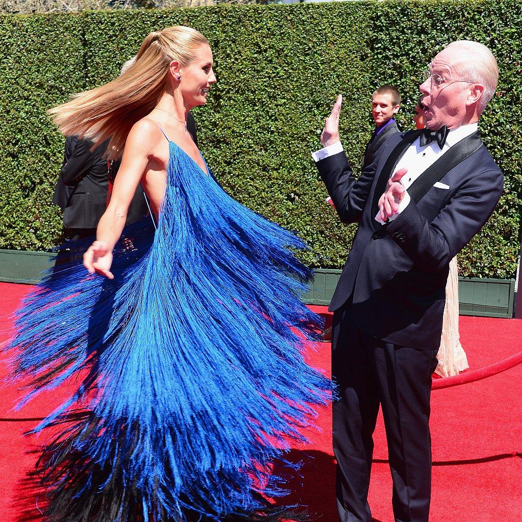 Heidi Klum Dress at Creative Arts Emmy Awards 2014