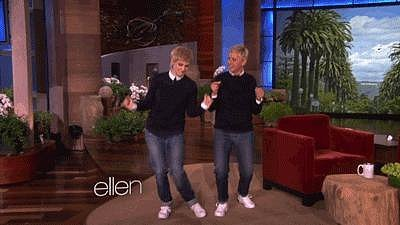 And Then When She Met the Real Ellen and Had This Dance-Off