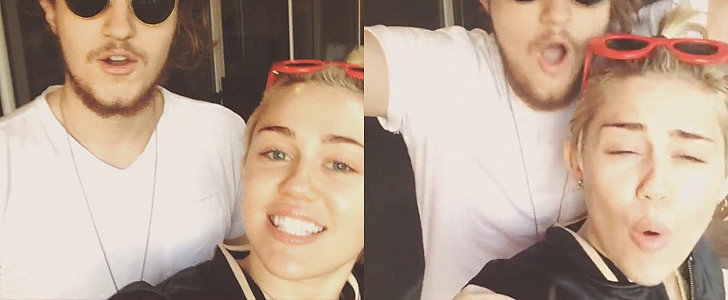 Of Course Miley Cyrus Couldn't Do a Regular Ice Bucket Challenge