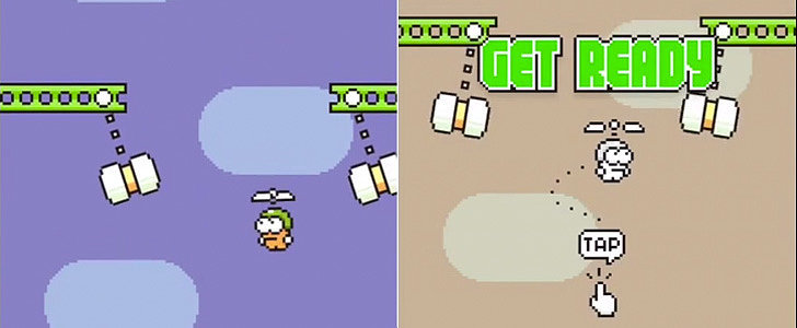 Swing Copters Is the Flappy Bird Sequel You've Been Waiting For