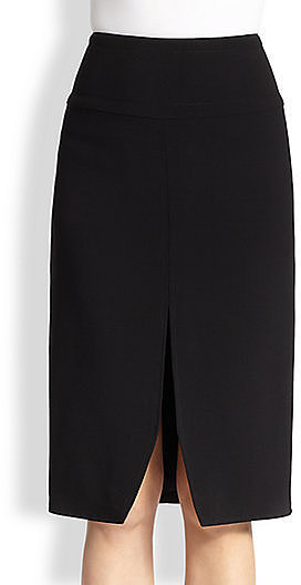 Tamara Mellon Slit Pencil Skirt