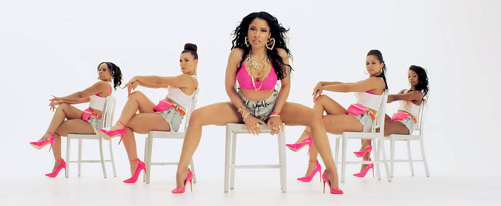 "Nicki Minaj's Music Video For ""Anaconda"" Is Straight-Up Insane"