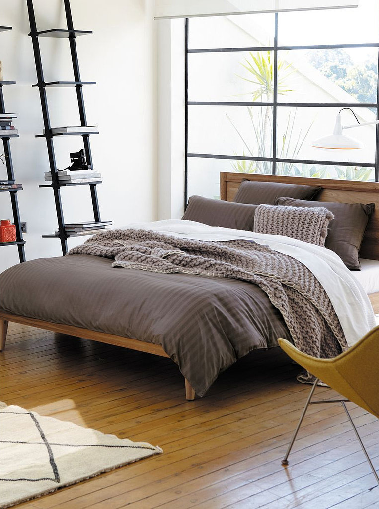 While this charcoal duvet ($281) is a timeless option, its earthy tones make it fitting for Fall.