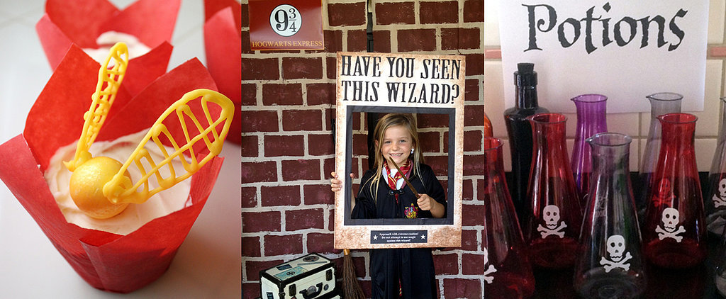 A Very Harry Potter Birthday Party