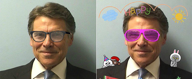 The Internet Did Amazing Things With Governor Rick Perry's Mug Shot