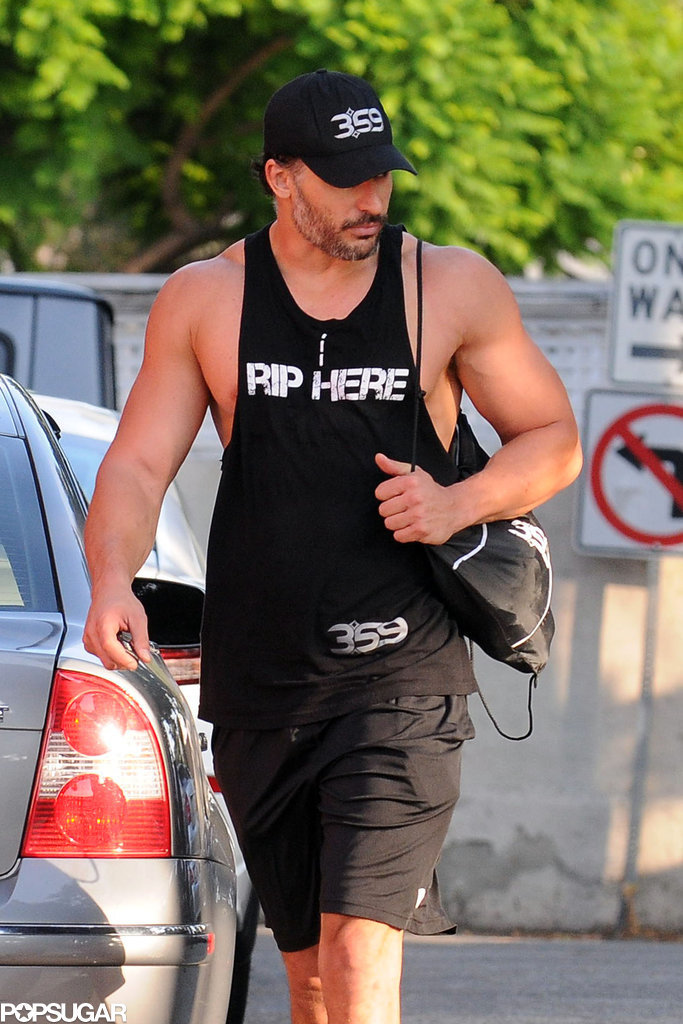 On Tuesday, Joe Manganiello's ripped body was on display in LA.