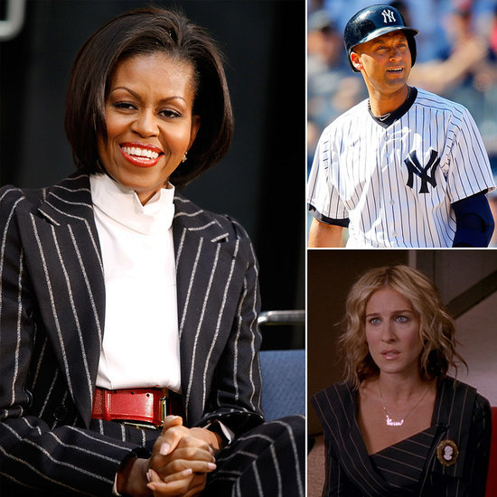 A History of Pinstripes, From Clark Gable to Carrie Bradshaw