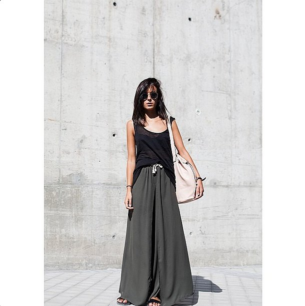 This one's for the ultimate lazy girl. With the return of sliders, palazzo pants and maxi skirts have neve