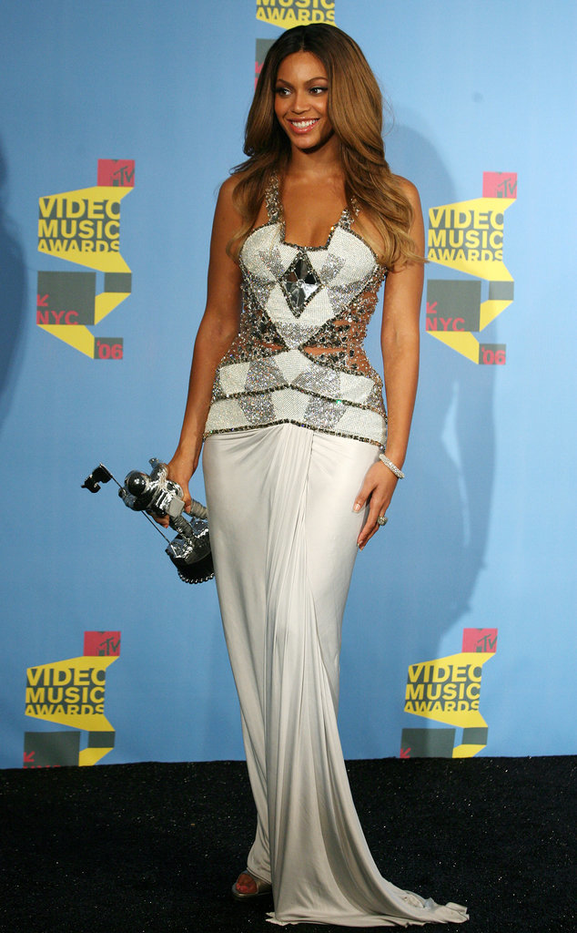 """2006: She took home the best R&B video award for """"Check on It."""""""