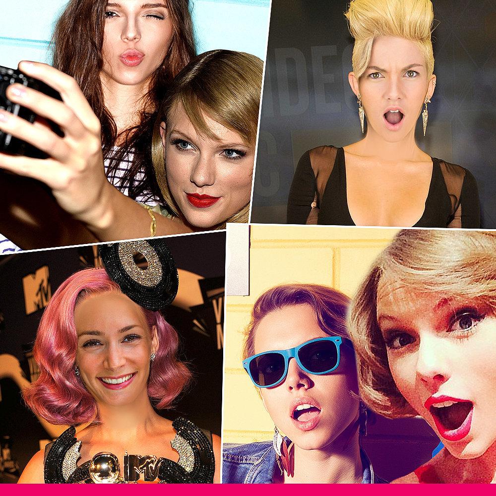 Celebrity VMA Photos I POPSUGAR Selfie