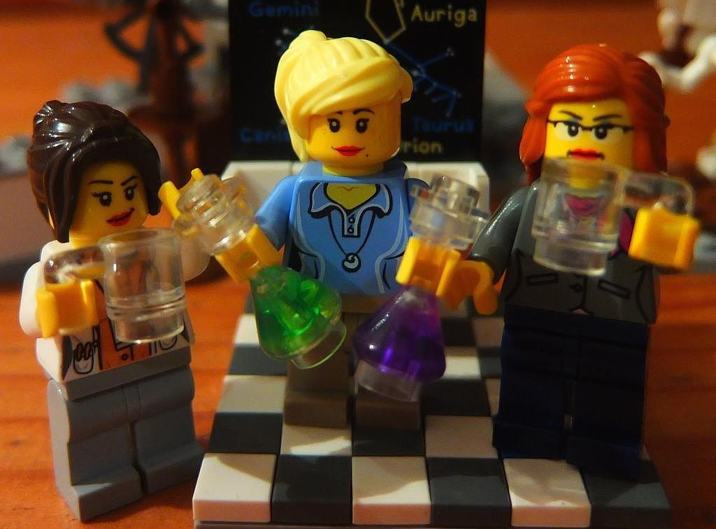 """""""Work Life Balance. @LegoAcademics enjoy Friday drinks . . . because they know they'll be working through the weekend."""""""