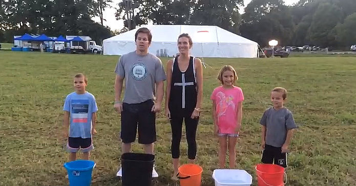 DONATE: Get involved in the ice bucket challenge