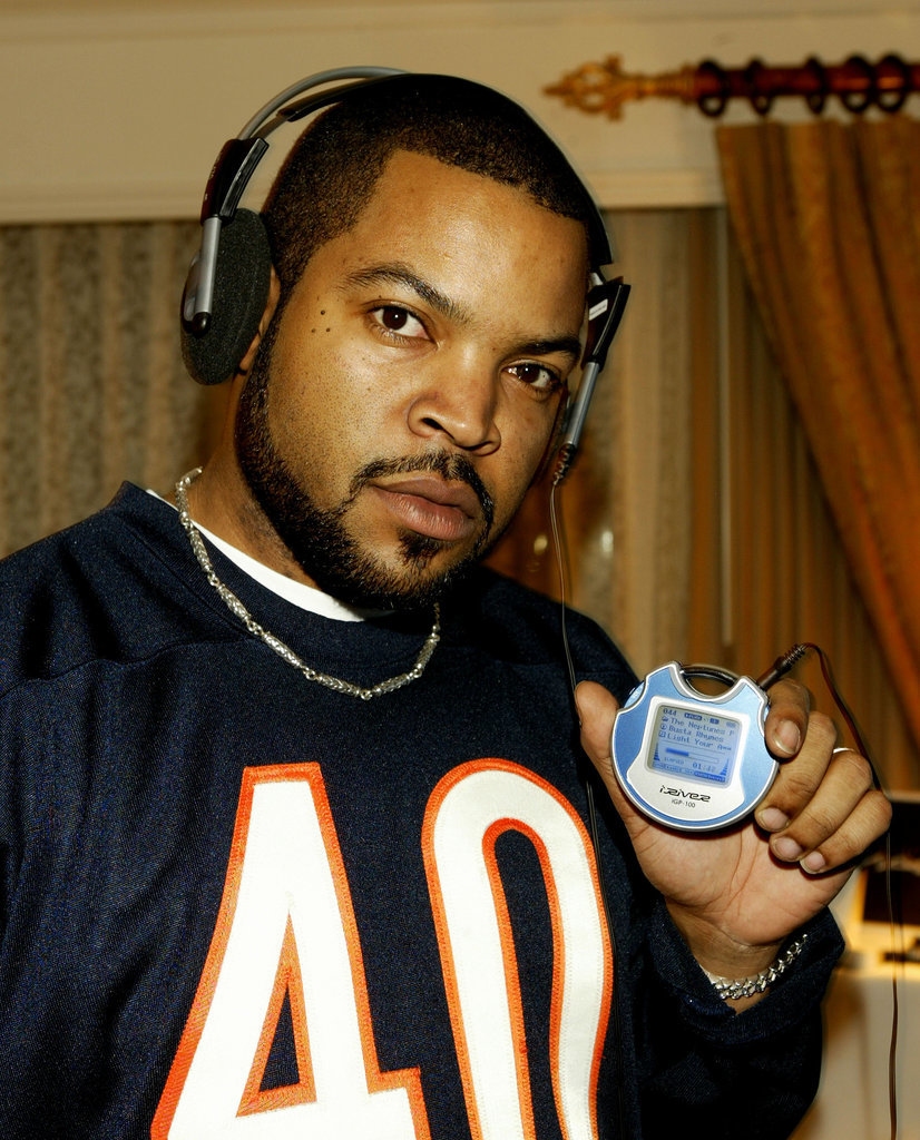 Don't you ever question the love Ice Cube had for the iRiver MP3.