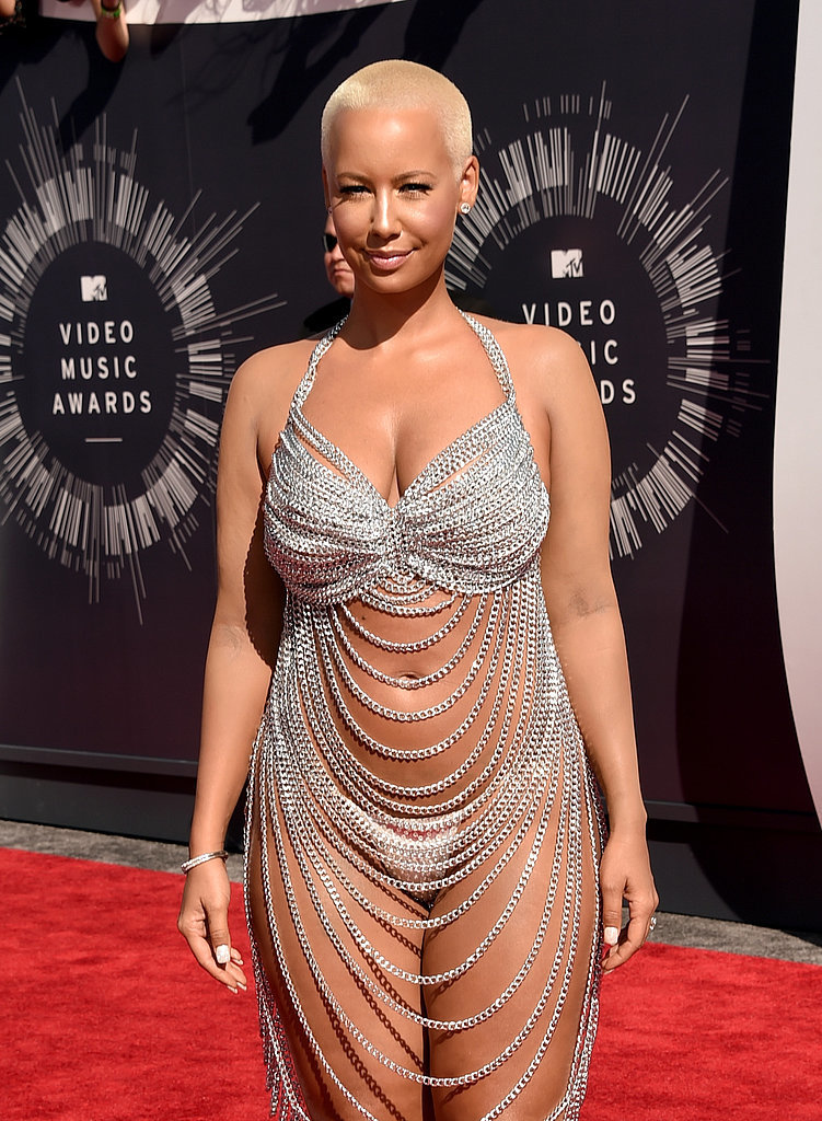 Amber Roses Outfit at the MTV VMAs 2014 | POPSUGAR Celebrity