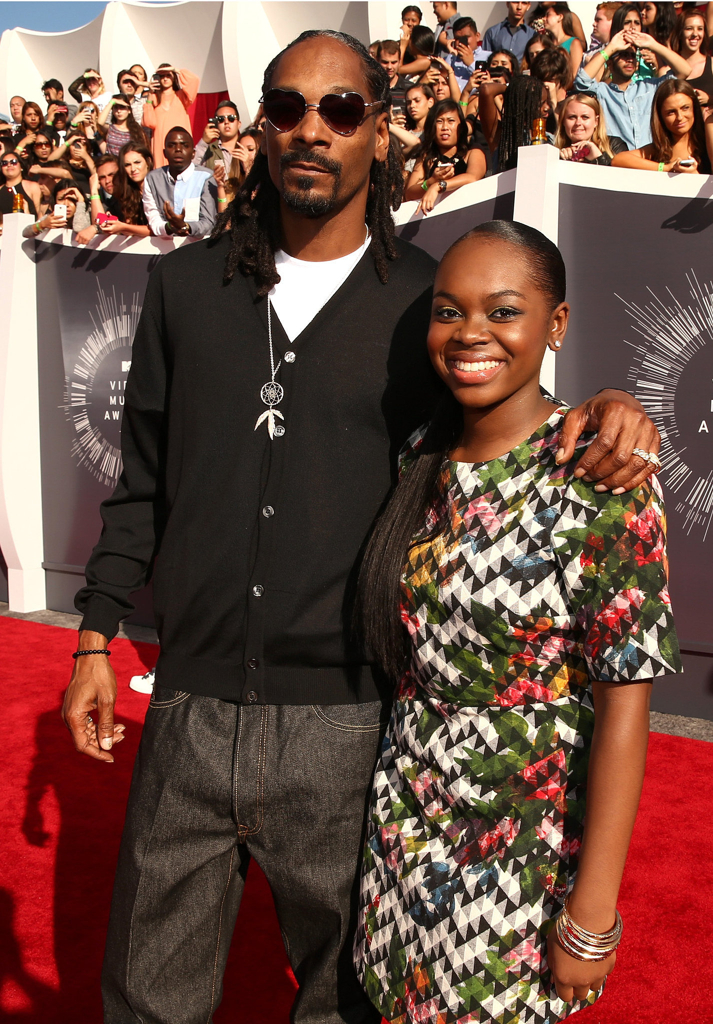Snoop Dogg and His Daughter Cori | All the Stars on the ...