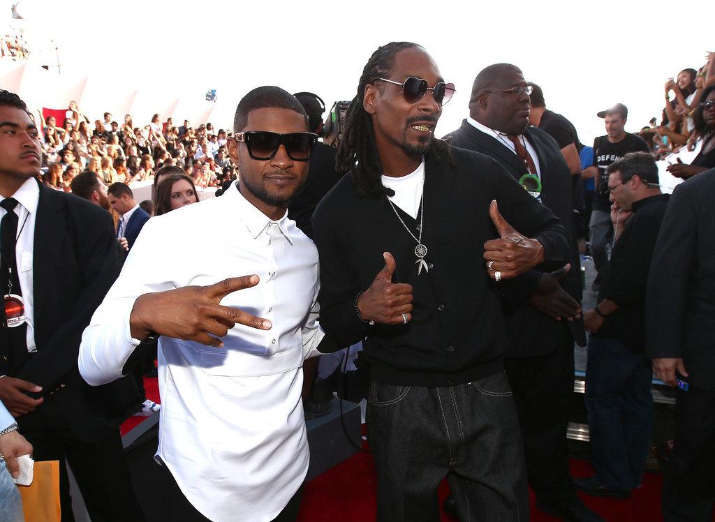 Usher and Snoop Dogg