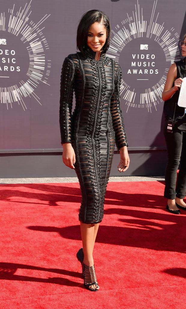 Chanel Iman at the 2014 MTV VMAs