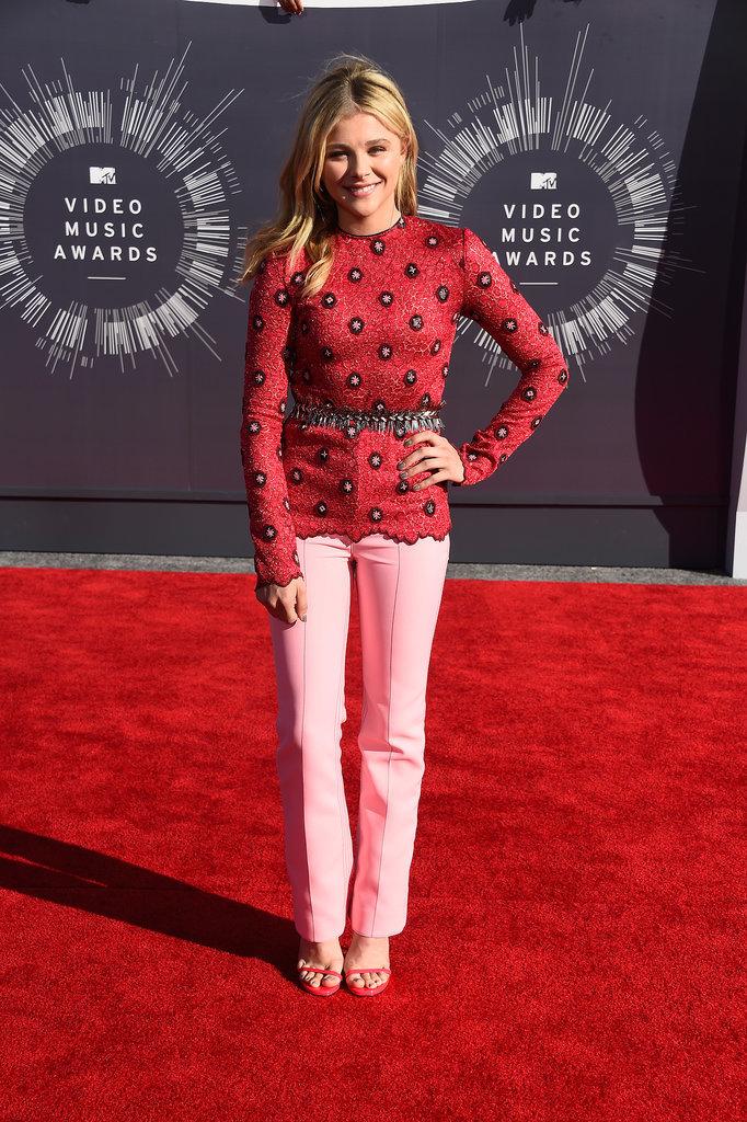 Chloë Moretz at the 2014 MTV VMAs