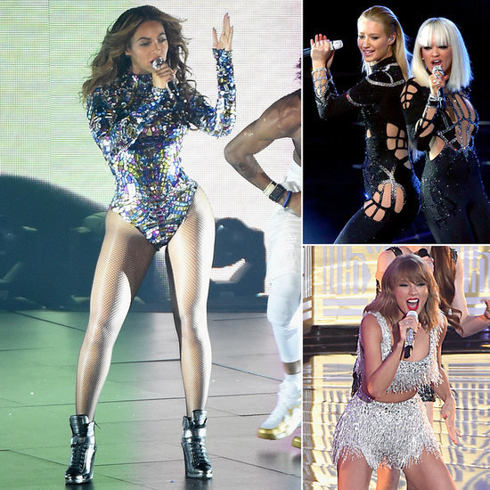 From Beyoncé's Bodysuit to Spider-Iggy: All the VMAs Onstage Fashion