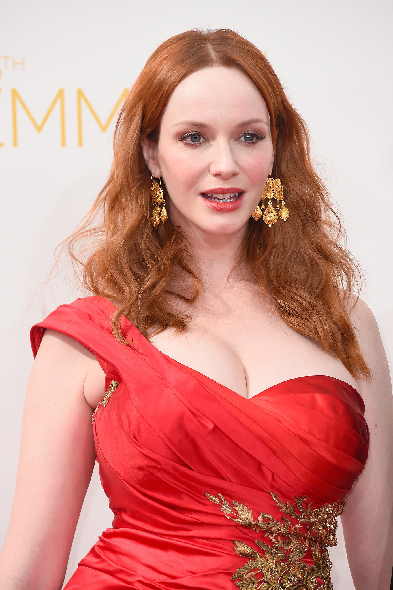 Christina Hendricks | See Every Dazzling Hair and Makeup Look From the