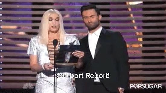 "Gwen Stefani Gave Her Best Pronunciation of ""Colbert Report"""