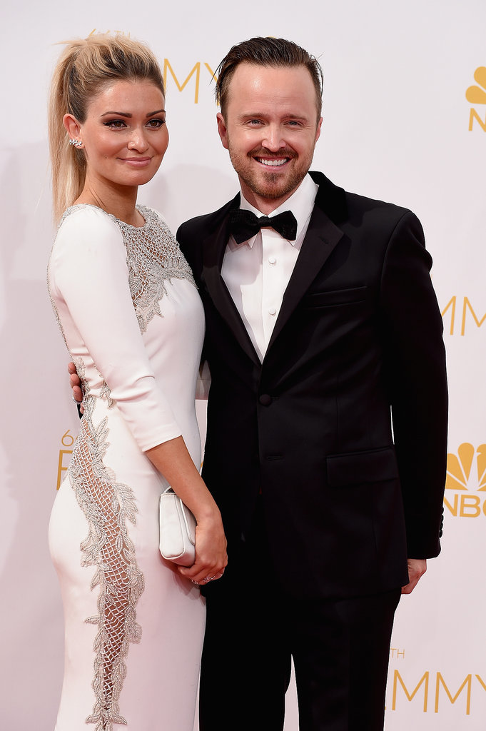 Aaron Paul Acceptance Speech About His Wife 2014 Emmy ... Aaron Paul Wife