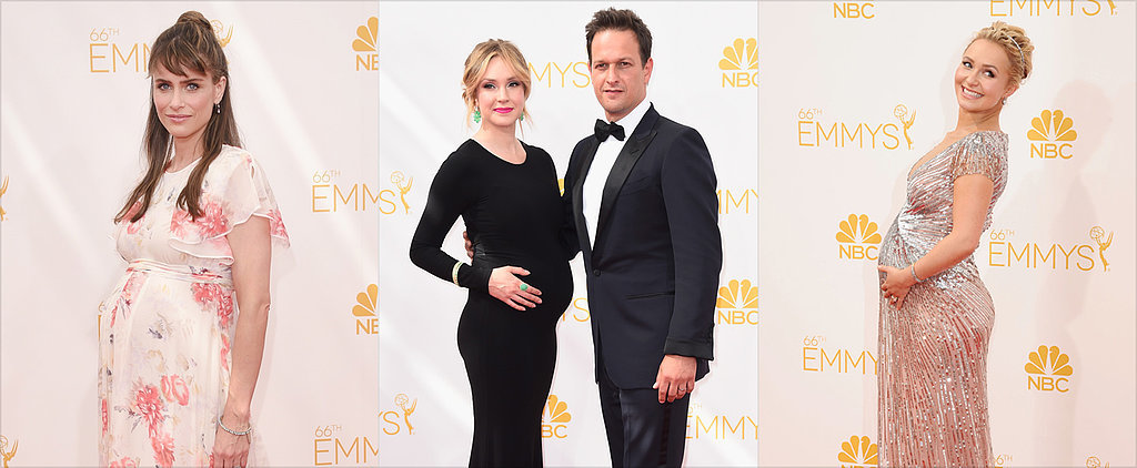 Which Pregnant Celeb's Emmys Look Gets Your Vote?