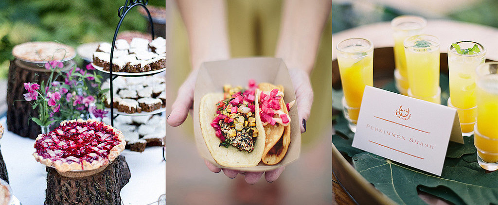 10 Personal Food Touches to Try at Your Wedding