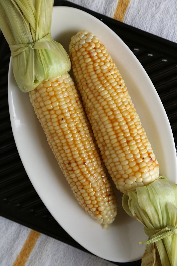 Maple-Chipotle Glazed Corn