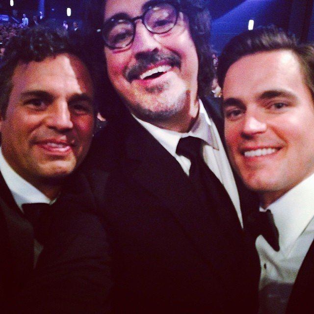 """Mark Ruffalo was part of what he called """"The Winners Circle,"""" which included Matt Bomer and Alfred Molina."""