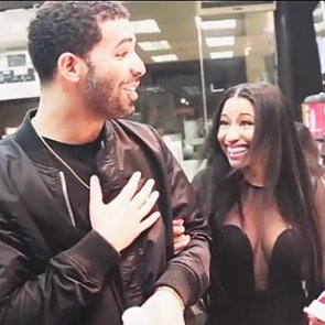Drake and Nicki Minaj Buying Snacks Together | Video