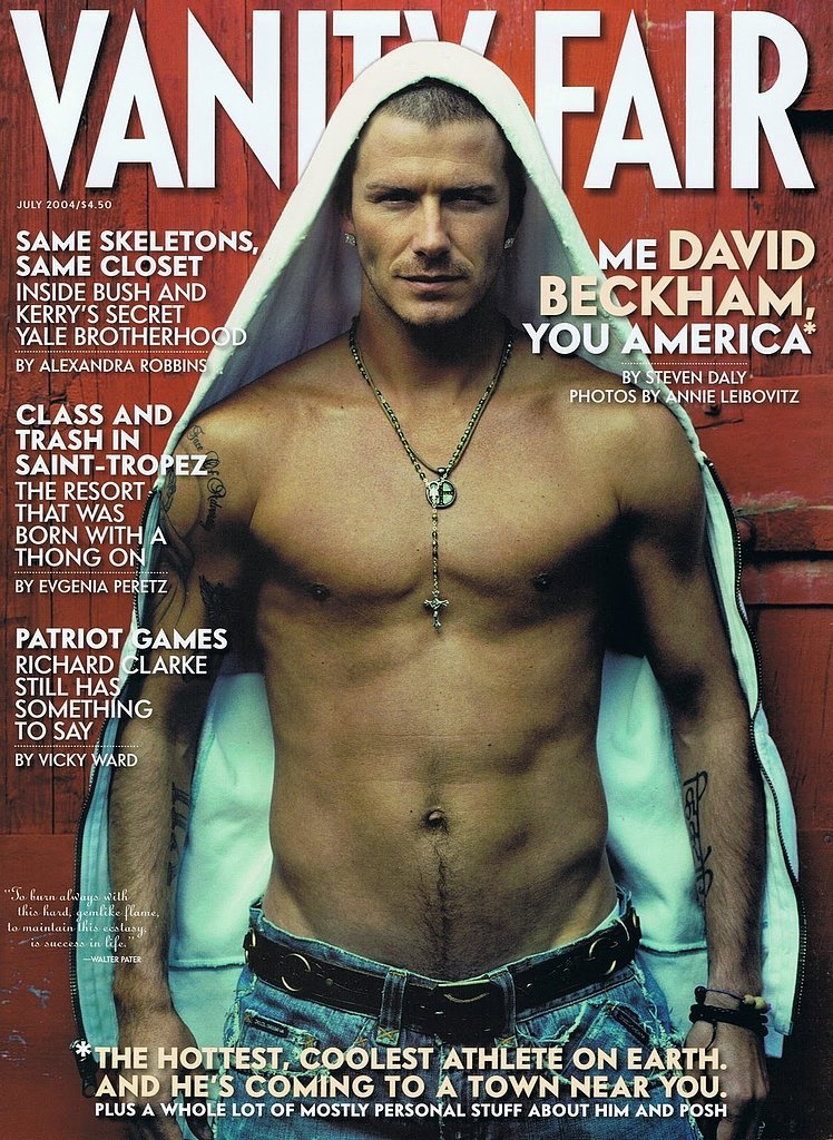 David Beckham For Vanity Fair, July 2004