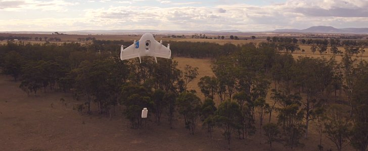 Google's Flying Robots Can Deliver Your Packages