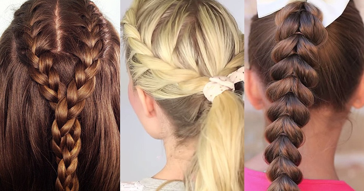 Cool Braids For Girls Popsugar Moms