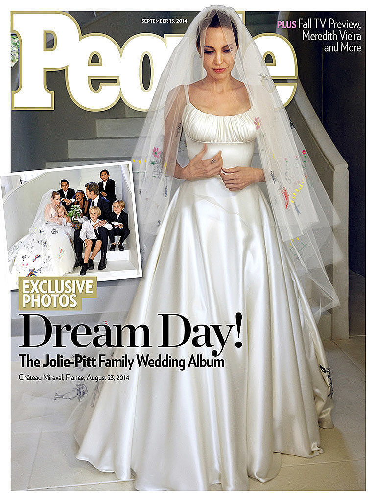 Angelina Jolie's Wedding Day Beauty